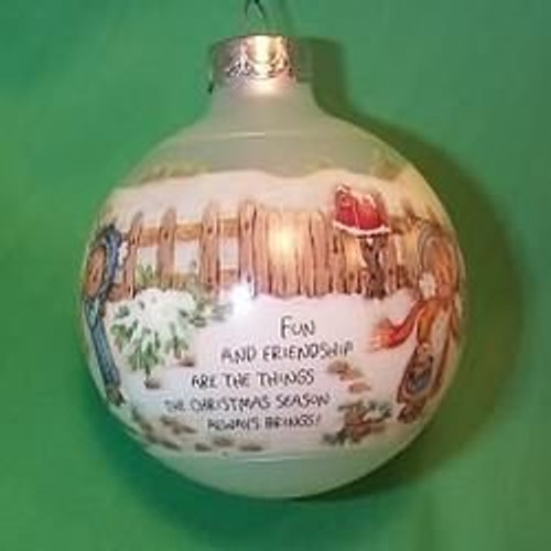 1989 Betsey Clark #4 - Home For Christmas