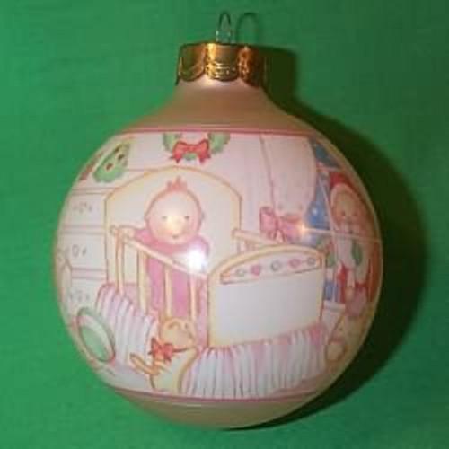 1994 Baby's 1st Christmas - Girl