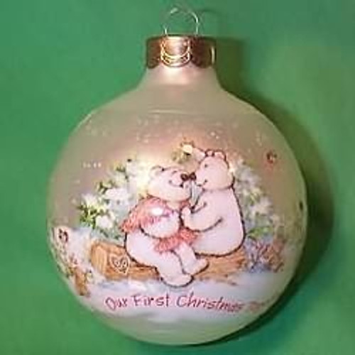 1989 1st Christmas Together - Ball