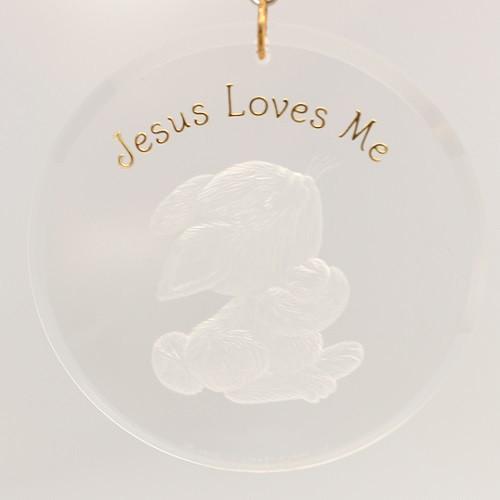 1990 Jesus Loves Me (QX3147-D)
