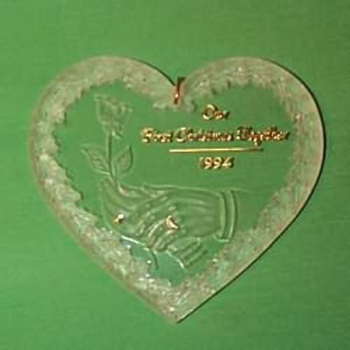 1994 1st Christmas Together - Acrylic