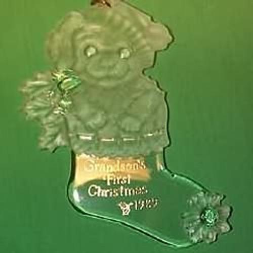 1989 Grandson's 1st Christmas