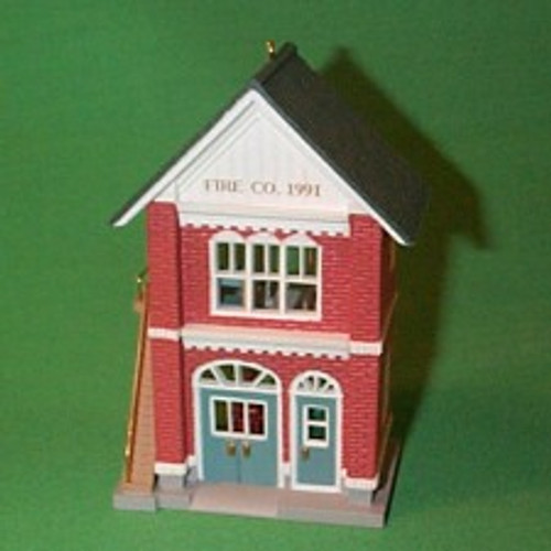1991 Nostalgic Houses #8 - Fire Station
