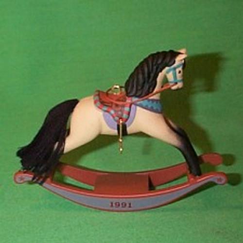 1991 Rocking Horse #11 - Buckskin