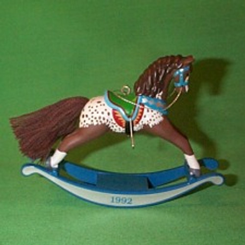 1992 Rocking Horse #12 - Brown