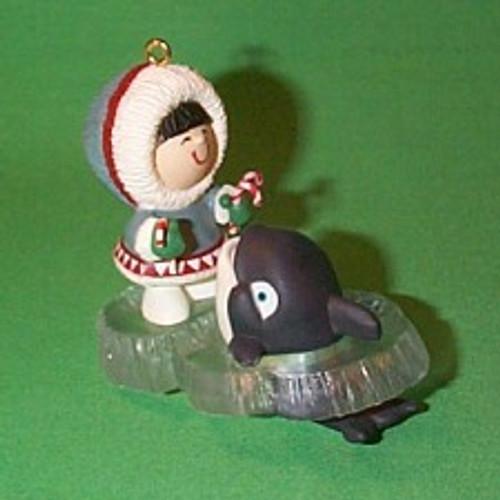 1992 Frosty Friends #13 - Whale