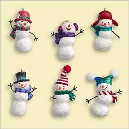 2006 Jolly Snowmen Minis