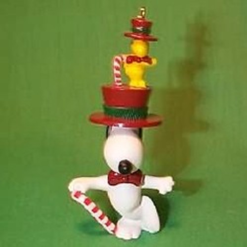 1989 Snoopy And Woodstock - Tophat