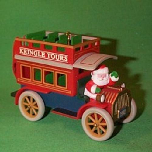 1992 Here Comes Santa #14 - Kringle Tours