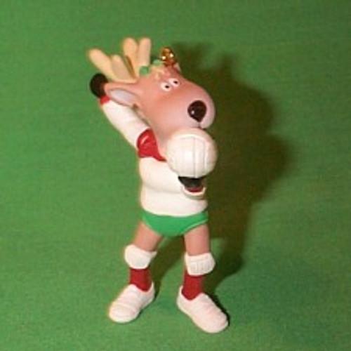1991 Reindeer Champs #6 - Cupid