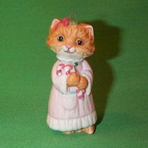 1991 Christmas Kitty #3F