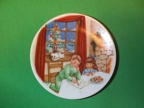1990 Plate #4 - Cookies For Santa