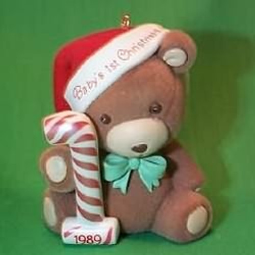 1989 Babys 1st Christmas - Bear