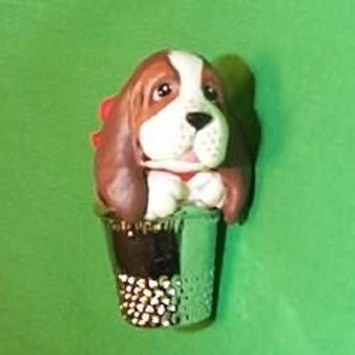 1989 Thimble #12F - Puppy