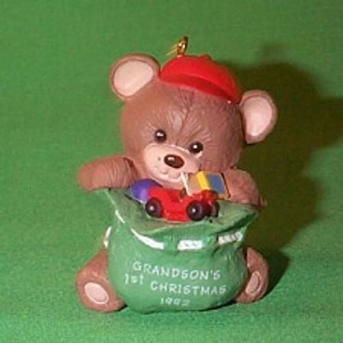 1992 Grandson 1st Christmas