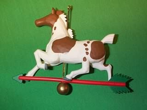 1989 Horse Weathervane