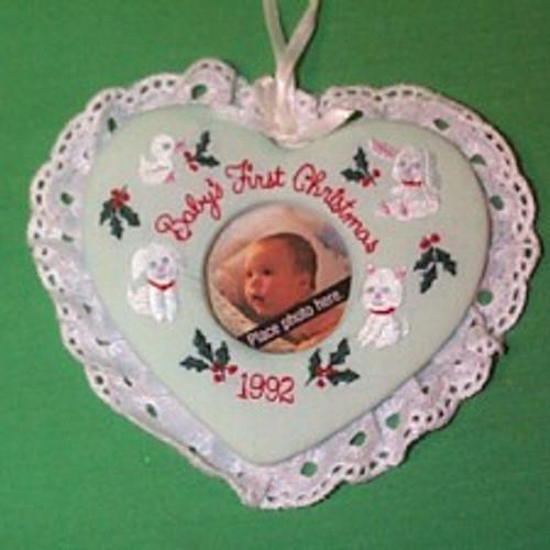 1992 Babys 1st Christmas - Photo