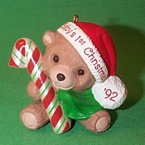 1992 Babys 1st Christmas - Bear