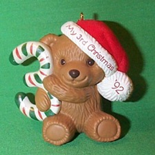 1992 Childs 3rd Christmas - Bear