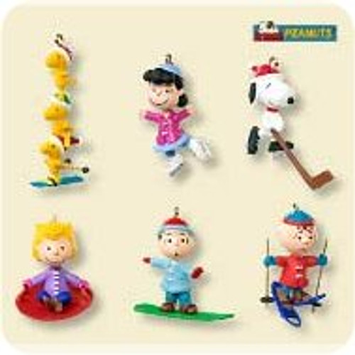 2007 Peanuts - Winter Sports Mini Set