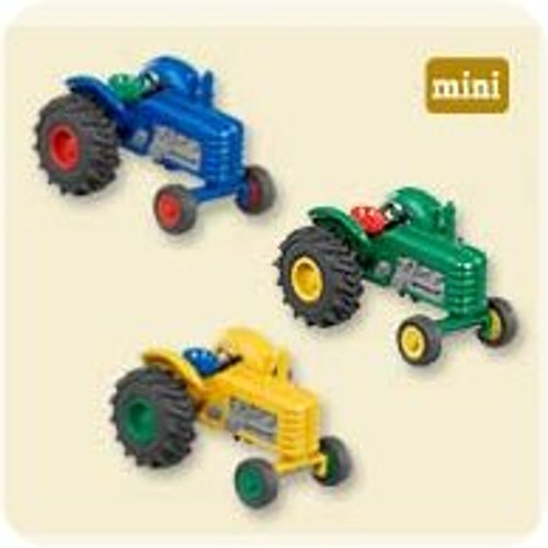 2007 Antique Tractors - Set of 3