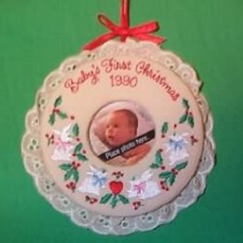 1990 Babys 1st Christmas - Photo