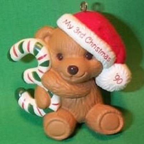 1990 Childs 3rd Christmas - Bear