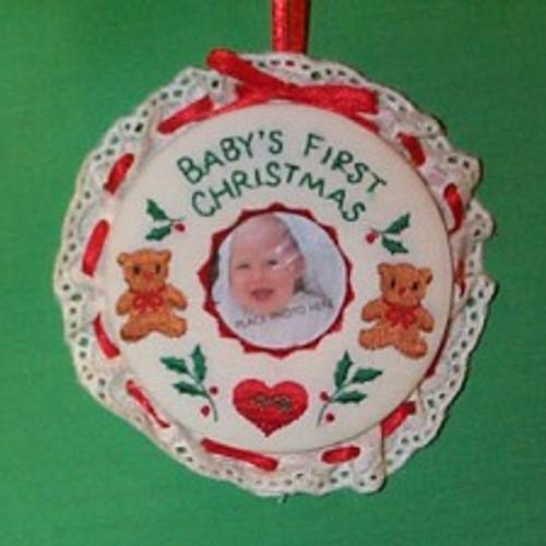 1991 Babys 1st Christmas - Photo