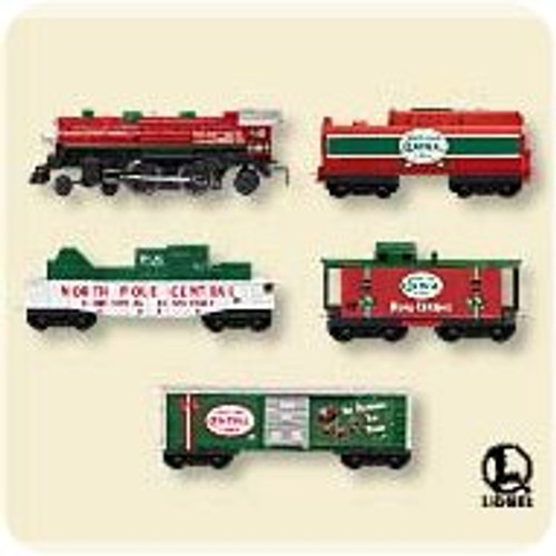 2007 Lionel Mini - Christmas - Set of 5