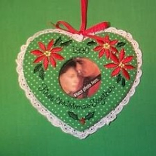 1990 1st Christmas Together - Photo