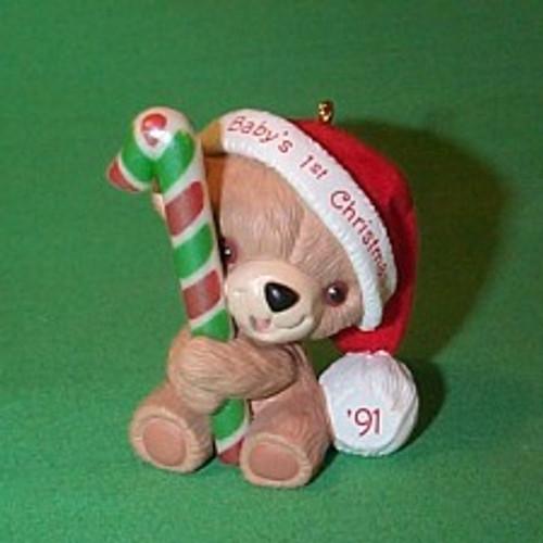 1991 Babys 1st Christmas - Bear