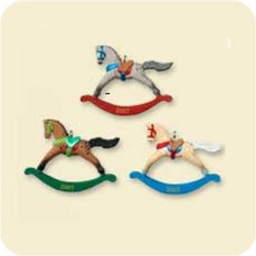 2007 Rocking Horses - Mini - Set of 3