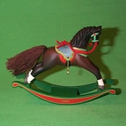 1994 Rocking Horse #14 - Brown