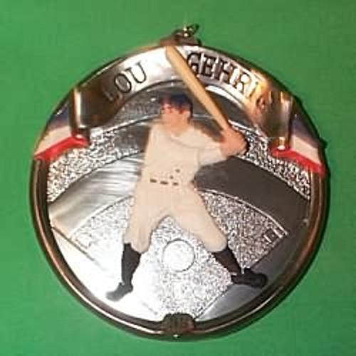 1995 Baseball Heroes #2 - Lou Gehrig