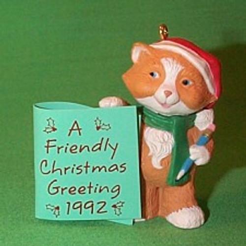 1992 Friendly Greetings