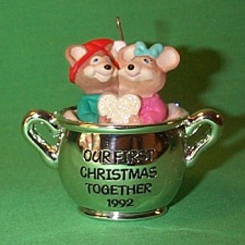1992 1st Christmas Together - Teapot