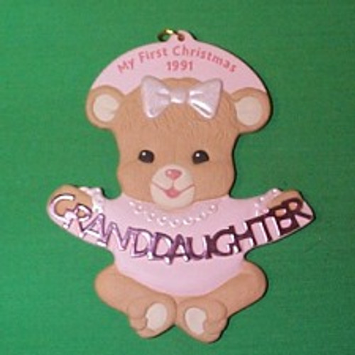 1991 Grandaughter 1st Christmas