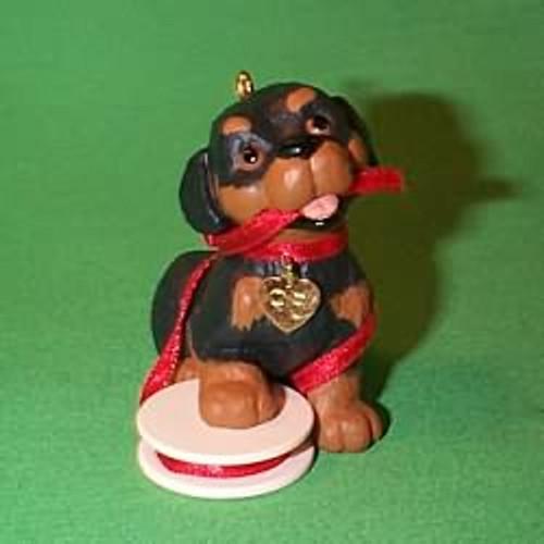 1995 Puppy Love #5 - Rottweiler