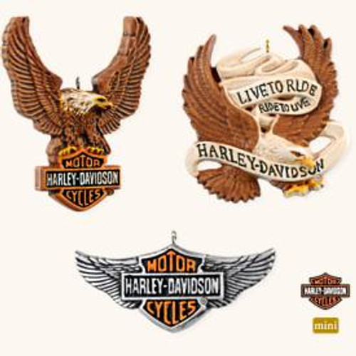 2008 Harley - American Legend Insignias Set of 3