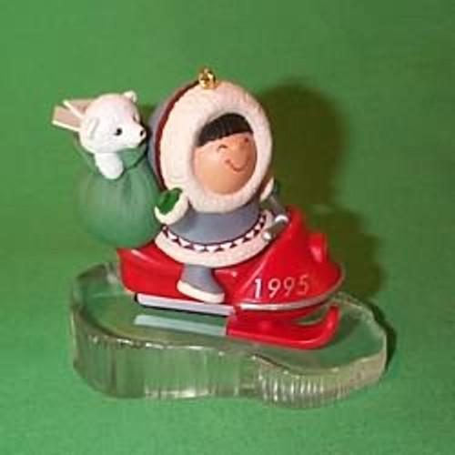 1995 Frosty Friends #16 - Snowmobile