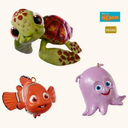 2008 Nemo Squirt Pearl Mini Set of 3
