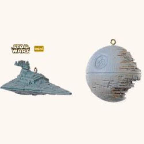 2008 Star Wars Mini Set of 2