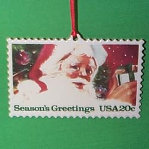 1993 U.S. Christmas Stamp #1