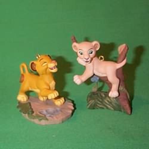 1994 Disney - Lion King-Simba And Nala