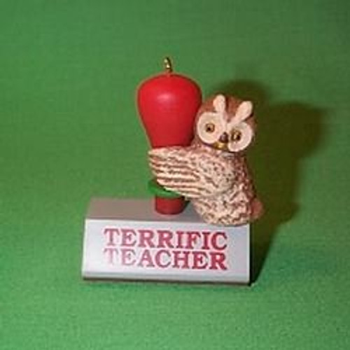 1991 Terrific Teacher