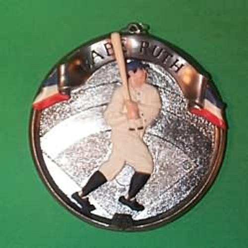 1994 Baseball Heroes #1 - Babe Ruth