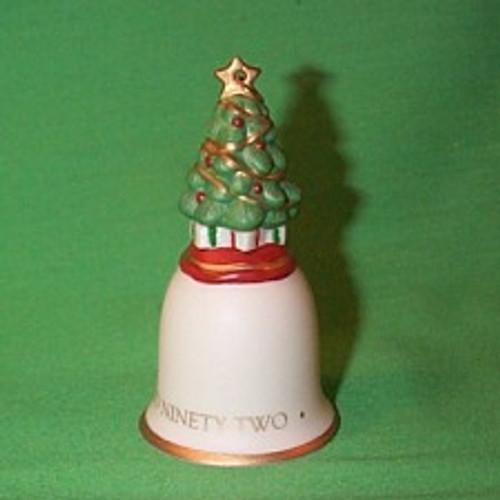 1992 O Christmas Tree Bell