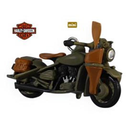 2009 Harley Davidson - Mini #11 - 1942 Harley Davidson WLA