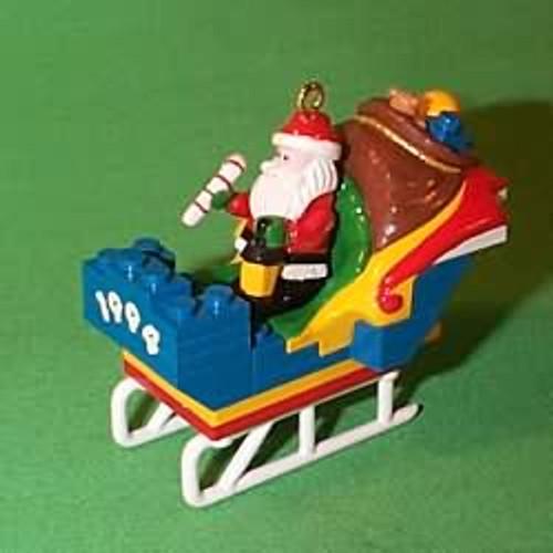 1994 Lego Sleigh - Santa