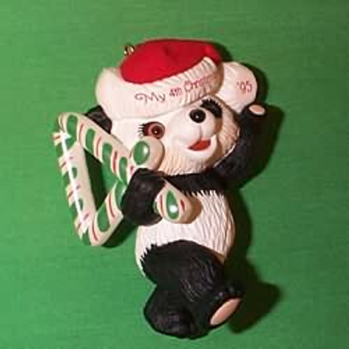 1995 Child's 4th Christmas - Bear